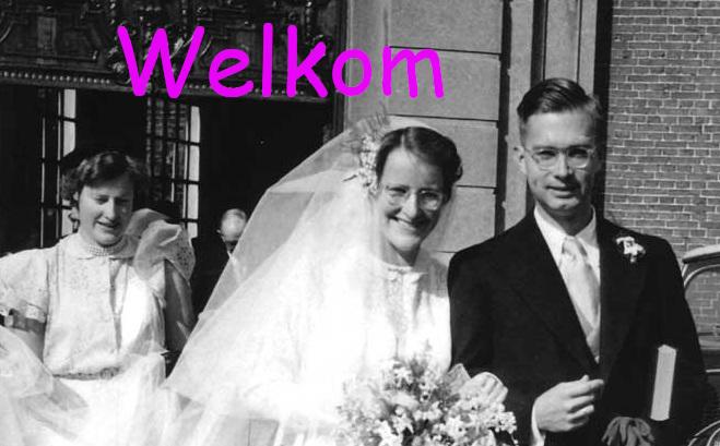 Huwelijk Tienke en Guus