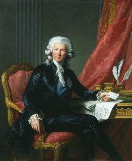 Minister van Financiën Charles Alexandre de Calonne (geboren 1734)