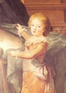 Charles Alexandre de Calonne (geboren 1734) als kind
