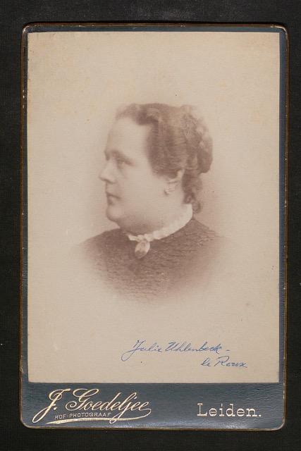 Henriette Julie le Roux getrouwd met een heer Uhlenbeck