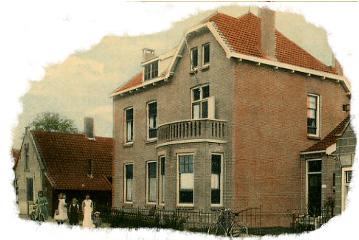 Dorpsstraat 43, Hekelingen, artspraktijk van Guus Pareau Dumont